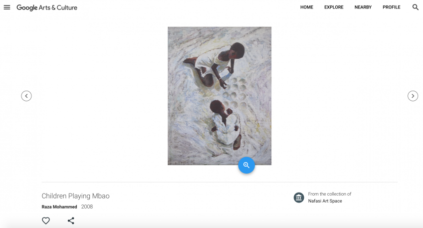 NAFASI AND THE GOOGLE ARTS & CULTURE PROJECT