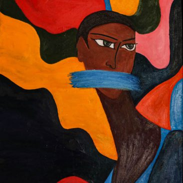 SABISATHU JOHN Untitled, 2019 Oil on canvas price on request