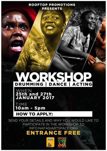 25.01.17 | Workshop Lamentations Acting Drumming
