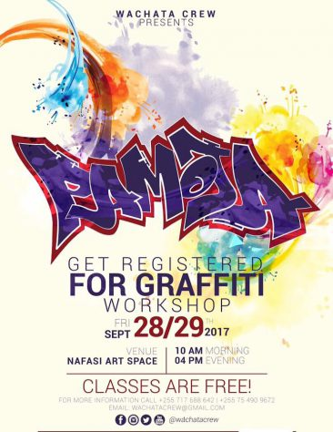 28.09.17 | Workshop Pamoja Graffiti