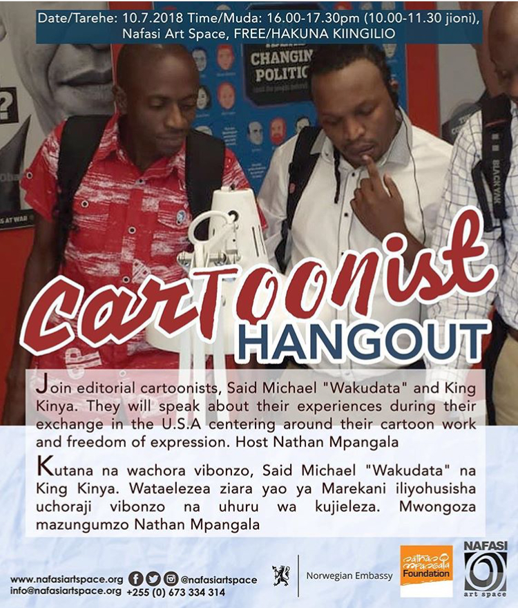 Nafasi Art Space - Cartoonist Hangout