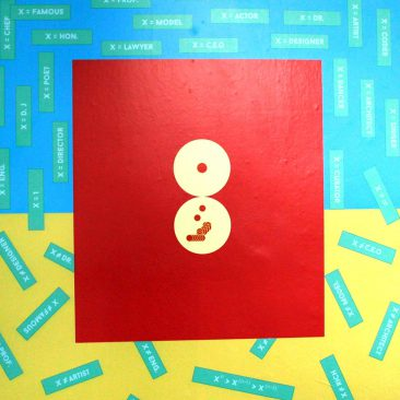 Winifrid Luena Transcend={0=1),(1=0),(1=0)} Vinyl Print 90cm x 90cm