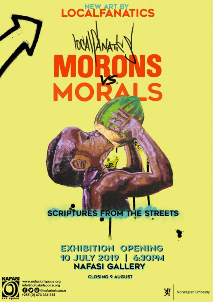 Morons vs Morals Gallery event