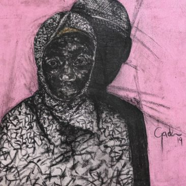 GADI RAMADHANI Untitled 1, 2019 Mixed media on canvas Price on request
