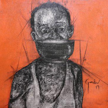 GADI RAMADHANI Untitled 2, 2019 Mixed media on canvas Price on request