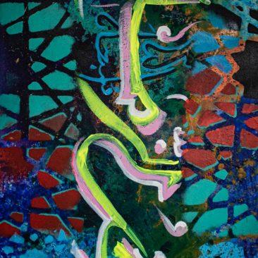 KOLA The last time Acrylic on canvas 90 x 60cm 250 USD