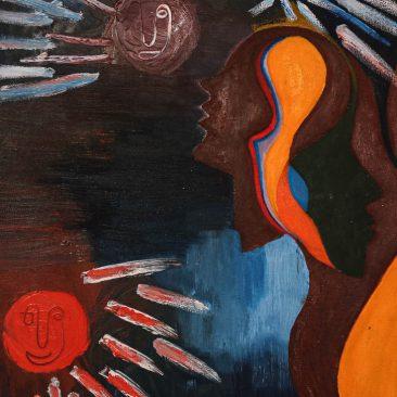 SABISATHU JOHN Untitled, 2019 Oil on canvas Print on request 100.000 TSH
