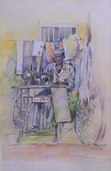 Tailor Watercolor on Paper 76 x92cm 450USD