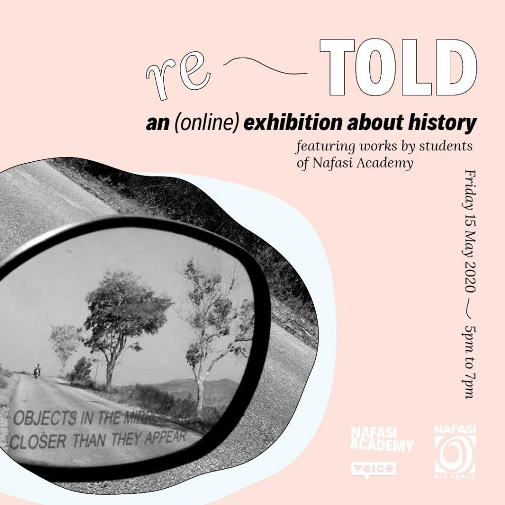 Re-Told Exhibition Poster